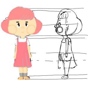 学部初の卒業制作! 「私」をテーマにアニメ制作に挑む